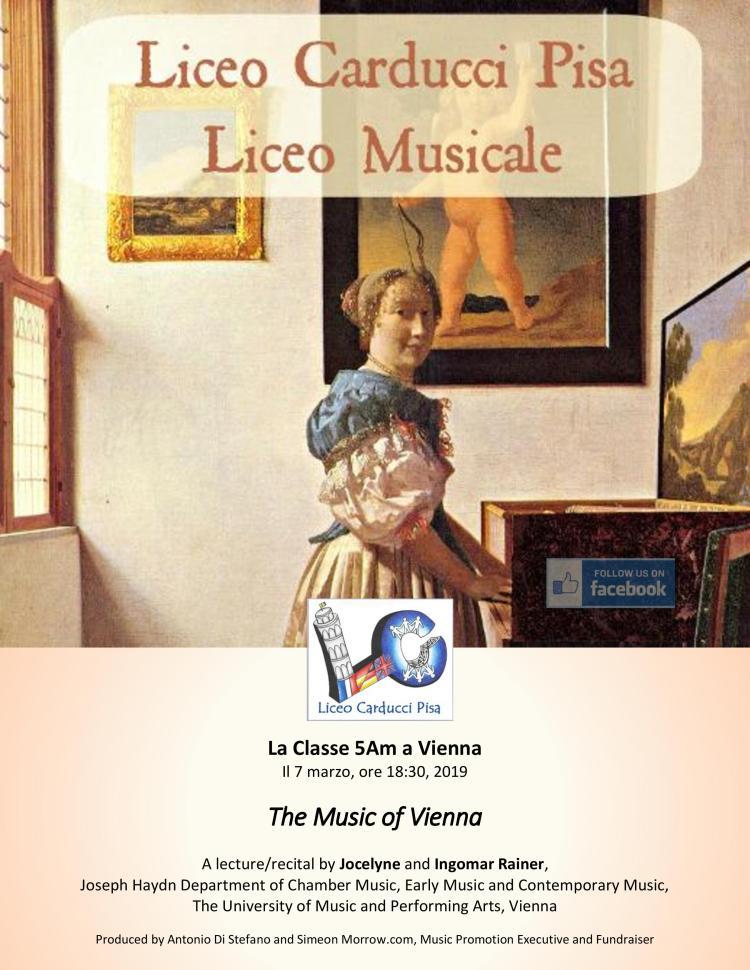 The Music of Vienna-Locandina